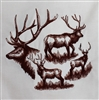 Animal Sketch Single - Elk