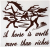 Horse Worth Riches