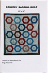 Country Ragdoll Quilt Pattern - by Nancy Murtie for King's Treasures