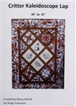 Critter Kaleidoscope Lap Quilt Pattern - by Nancy Murtie for King's Treasures