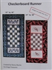 Checkerboard Runner Pattern - by Nancy Murtie for King's Treasures