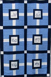 Sue and Sam Hole in the Wall Quilt - Quilt in a Day - Baby Quilt Kit