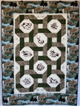 Interlocking Rings - Wildlife II - Lap Quilt Kit