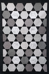 Sewing Hexagon - Lap Quilt Kit