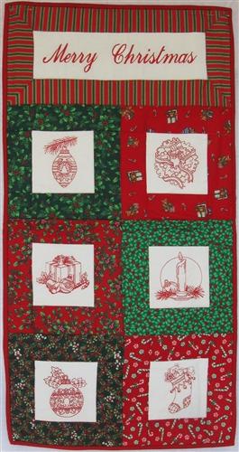 Merry Christmas - Small Wall Hanging Kit