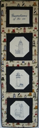 Quilt with a Message - Nautical - Small Long Wall Hanging Kit