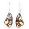 Butterfly Wing Shaped Earrings