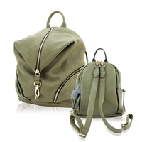 Aurora Concealed Carry Backpack: Olive