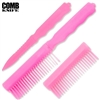 Comb Knife Hidden ABS Plastic: Pink