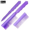Comb Knife Hidden ABS Plastic: Purple