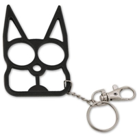 Kitty Cat Self Defense Keychains: Black