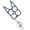 Kitty Cat Self Defense Keychains: Blue