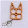 Kitty Cat Self Defense Keychains: Orange