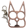 Kitty Cat Self Defense Keychains: Copper