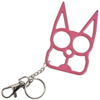 Kitty Cat Self Defense Keychains: Pink