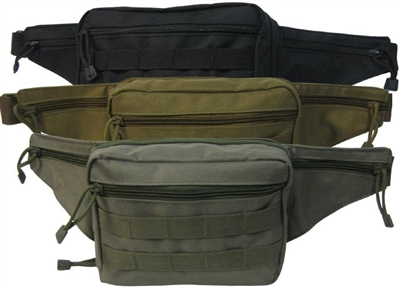 Concealment Fanny pack- Black