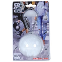 Fur Ball Buzzer Alarm: White
