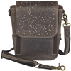 GTM/CZY-80 Distressed Leather Cross Body Satchel