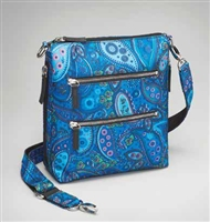 GTM-MF/20 PAISLEY BLUE X-BODY FLAT SAC