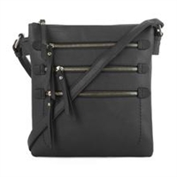 Multi-Pocket Concealed Carry Lock and Key Crossbody