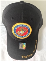 Marine Corps Baseball Covers Black