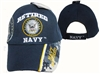 Navy Retired Baseball Cap Blue
