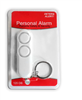 Personal  Alarm with Keychain: White