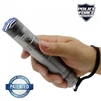 Police Force 9,200,000 Tactical Stun Flashlight - Gray
