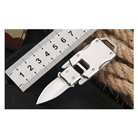 Pocket Self Defense Portable Knife-Silver