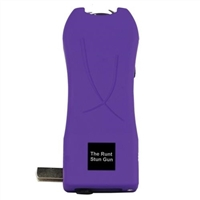 Purple: Runt Stun Gun 20,000,000 volts w/flashlight & wrist strap disable pin