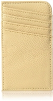 Taupe RFID Wallet: ScanSafe Concierge Card Case with RFID Protection,