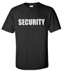 Security  Event T- Shirt X-Large Free shipping