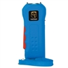 Trigger 18,000,000 Stun Gun Flashlight with Disable Pin Blue