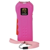 Trigger 18,000,000 Stun Gun Flashlight with Disable Pin Pink