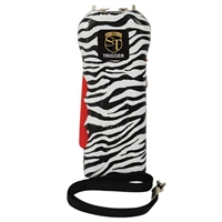 Trigger 18,000,000 Stun Gun Flashlight with Disable Pin Zebra