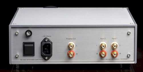Pass Labs Hpa 1 Headphone Amplifier And Preamp
