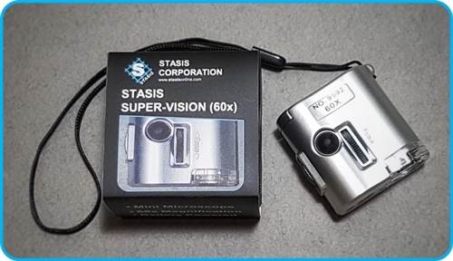 Stasis Super Vision 60x Mini Microscope