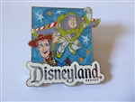 Disney Trading Pins  100155 Disneyland -Disney Visa Travel - Pin - 2014 Buzz & Woody