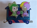 Disney Trading Pin 100235 DSSH - Wreck It Ralph - Sugar Rush Train - Minty + Snowanna