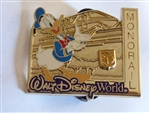 Disney Trading Pin 100290 WDW - Donald Monorail