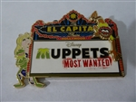 Disney Trading Pin 100420 DSSH - Muppets Most Wanted Marquee