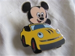 Disney Trading Pin 100494: 2014 - PWP Promotion - Starter Set - Baby Characters in Vehicles (Mickey Only)