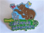 Disney Trading Pins  10064 Disney's California Adventure - Bear Playing With Animals