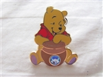 Disney Trading Pin 10081 12 Months of Magic - Birthstone Pooh (Aquamarine/March)