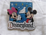 Disney Trading Pin 100152: Disneyland - Walt Disney Travel Company - Pin and Lanyard 2014 Mickey & Minnie