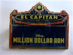 Disney Trading Pin 101089 Million Dollar Arm Marquee - El Capitan Theatre