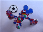 Disney Trading Pin 101175: Multi-Country Mickey Soccer Player