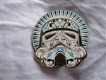 Disney Trading Pin 101728: Star Wars Helmet Series - Stormtrooper