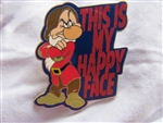 Disney Trading Pin 101881: Grumpy – This is my Happy face