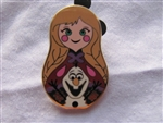 Disney Trading Pin 101907: Nesting Dolls Mini Pin Pack - Anna Only